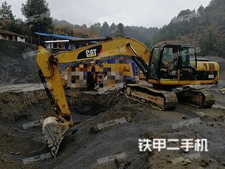 湖南-怀化市二手卡特彼勒320D液压挖掘机实拍照片