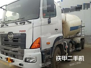 中联重科ZLJ5256GJBGH日野搅拌运输车实拍图片