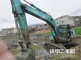 湖南-衡阳市二手神钢SK200-6E挖掘机实拍照片