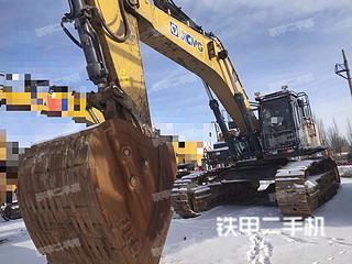 内蒙古-鄂尔多斯市二手徐工XE700C挖掘机实拍照片