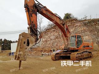湖北-宜昌市二手斗山DH420LC-7挖掘机实拍照片