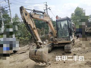 广西-南宁市二手卡特彼勒306E液压挖掘机实拍照片