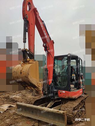 久保田KX165-5挖掘机实拍图片