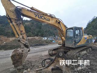 玉柴YC230LC-8挖掘机实拍图片