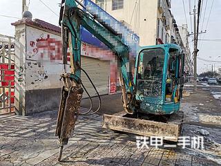 久保田KX135-3SZ挖掘机实拍图片