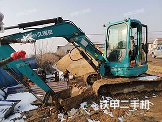 久保田KX161-3S挖掘机实拍图片
