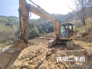 小松PC120-6E挖掘机实拍图片