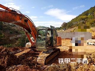 日立ZX230挖掘机实拍图片