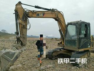 广西-来宾市二手卡特彼勒307D液压挖掘机实拍照片