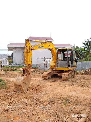 广东-肇庆市二手小松PC60-7挖掘机实拍照片