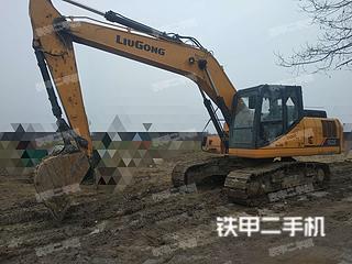 柳工CLG920E挖掘机实拍图片