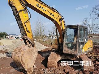 四川-广安市二手三一重工SY115C挖掘机实拍照片