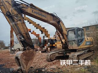 柳工CLG925LC挖掘机实拍图片