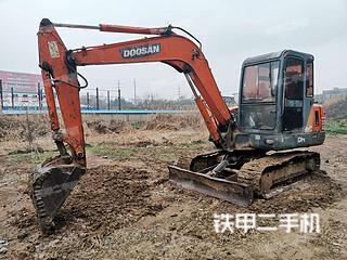 江苏-镇江市二手斗山DH55-V挖掘机实拍照片