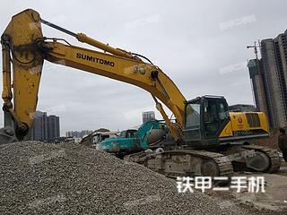 四川-南充市二手住友SH480HD-6挖掘机实拍照片