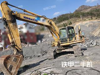 贵州-六盘水市二手小松PC210LC-8挖掘机实拍照片