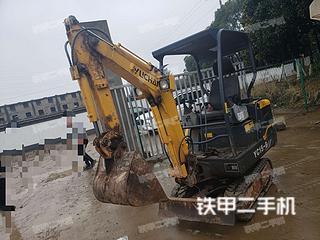 玉柴YC15-8挖掘機實拍圖片
