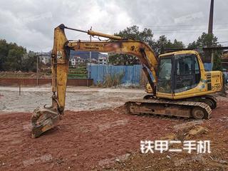 小松PC120-6E0挖掘机实拍图片