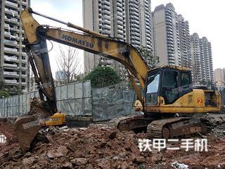 湖南-邵阳市二手小松PC200-7挖掘机实拍照片