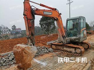 湖北-宜昌市二手斗山DH60-7挖掘机实拍照片