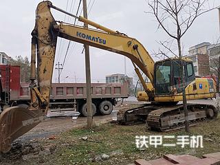 湖南-永州市二手小松PC200-7挖掘机实拍照片