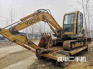 山东-枣庄市二手玉柴YC60-8挖掘机实拍照片