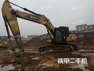湖南-衡阳市二手三一重工SY205C挖掘机实拍照片