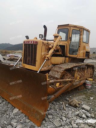 浙江-丽水市二手宣工T140-1推土机实拍照片