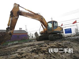 现代R215-9C挖掘机实拍图片