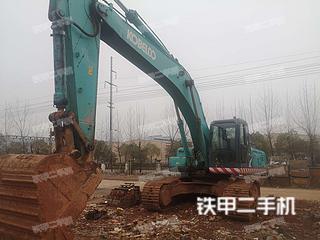 江西-新余市二手神钢SK350LC-8挖掘机实拍照片