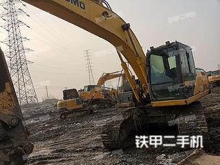 江苏-镇江市二手住友SH210-5挖掘机实拍照片