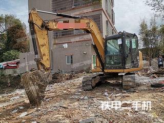广东-湛江市二手卡特彼勒307E液压挖掘机实拍照片