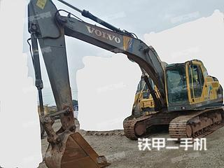 湖南-衡阳市二手沃尔沃EC200B挖掘机实拍照片