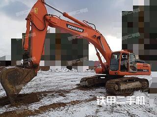 山东-烟台市二手斗山DH420LC-7挖掘机实拍照片