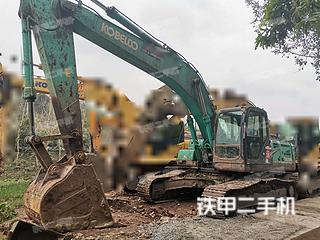 四川-内江市二手神钢SK260LC-8挖掘机实拍照片