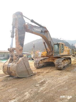 广东-肇庆市二手沃尔沃EC700BLC挖掘机实拍照片