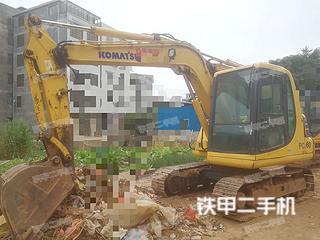 广西-玉林市二手小松PC60-7挖掘机实拍照片