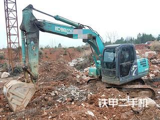 湖南-邵阳市二手神钢SK130-8挖掘机实拍照片