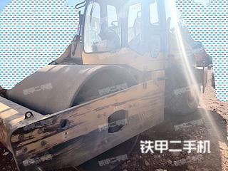 龙工LG522A机械驱动压路机实拍图片