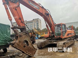 安徽-芜湖市二手斗山DH420LC-7挖掘机实拍照片