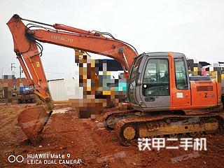 日立ZX120挖掘機實拍圖片