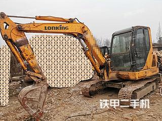 二手龙工 LG6060 挖掘机转让出售