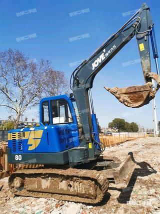 湖南-长沙市二手恒天九五JV70-7挖掘机实拍照片