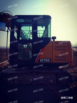 河北-邯郸市二手三一重工SY75C-10挖掘机实拍照片