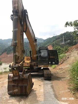 湖南-永州市二手卡特彼勒320DLRR挖掘机实拍照片
