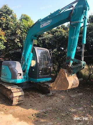 广东-惠州市二手神钢SK70SR-2挖掘机实拍照片