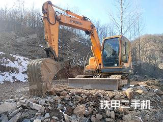 河南-洛阳市二手现代R80-9挖掘机实拍照片