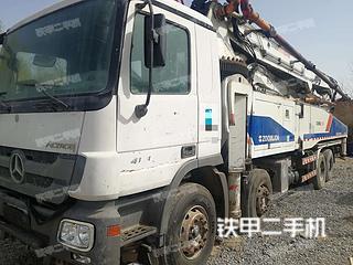 陕西-西安市二手中联重科ZLJ5419THB 52X-6RZ泵车实拍照片