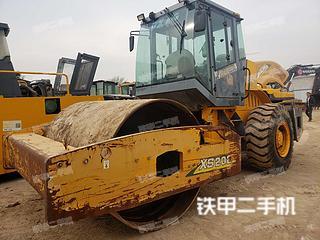 河南-郑州市二手徐工XS202J压路机实拍照片