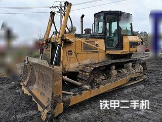 贵州-黔南布依族苗族自治州二手宣工TY165-2液力型推土机实拍照片